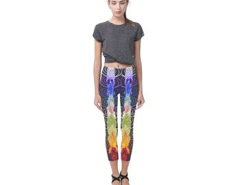 OMniUs Chakra Leggings- Women/Kids