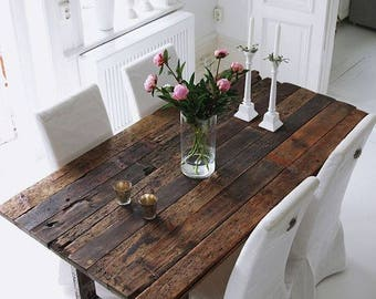 Reclaimed North East Wood Table