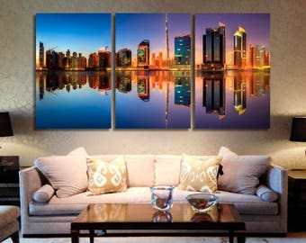 Dubai Dubai Canvas Dubai Photo Dubai Print Dubai Poster Dubai Wall Art Dubai Home Decor Dubai Wall Decor Dubai Art Dubai Cityscape Skyline