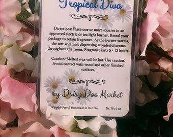 Tropical Diva - Natural Soy Wax Melts