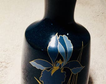 Dark Blue Otagiri Bud Vase