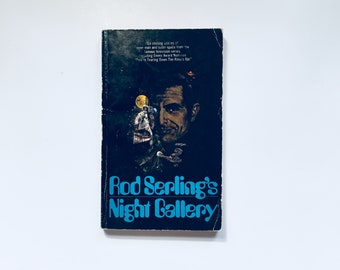 Rod Serling / Night Gallery / 6 Stories Anticipation Science Fiction Vintage Paperback Twilight Zone