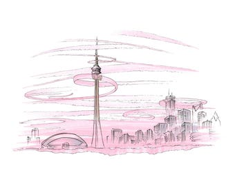 Toronto Canada (pink)