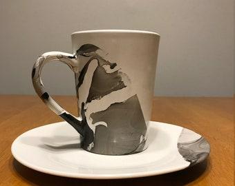 Water Marble Mug