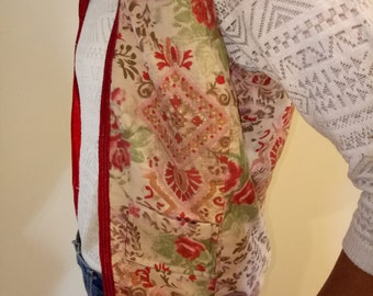 Red size 36 women's Cardigan