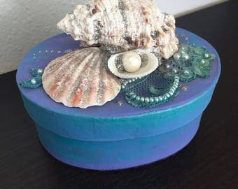Twilight -  Fantasy Mermaid Treasure Box