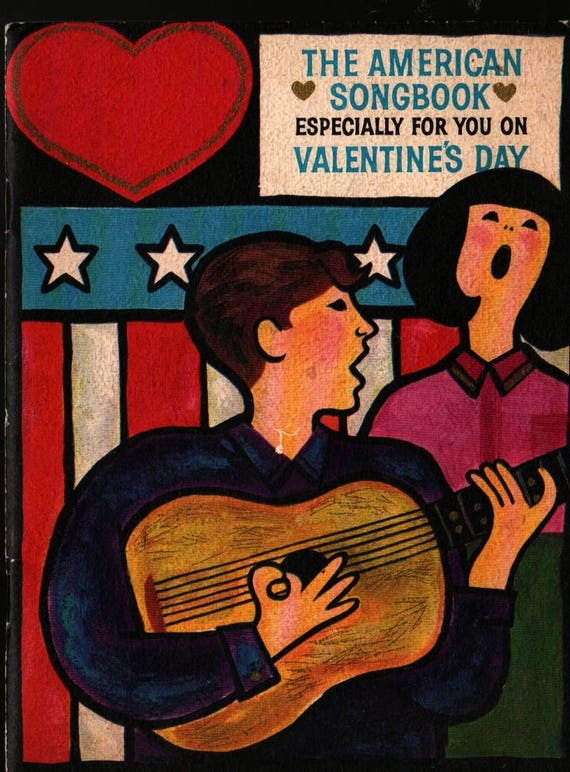 The American Songbook Especially For You On Valentine's Day - Vintage Sheet Music Book