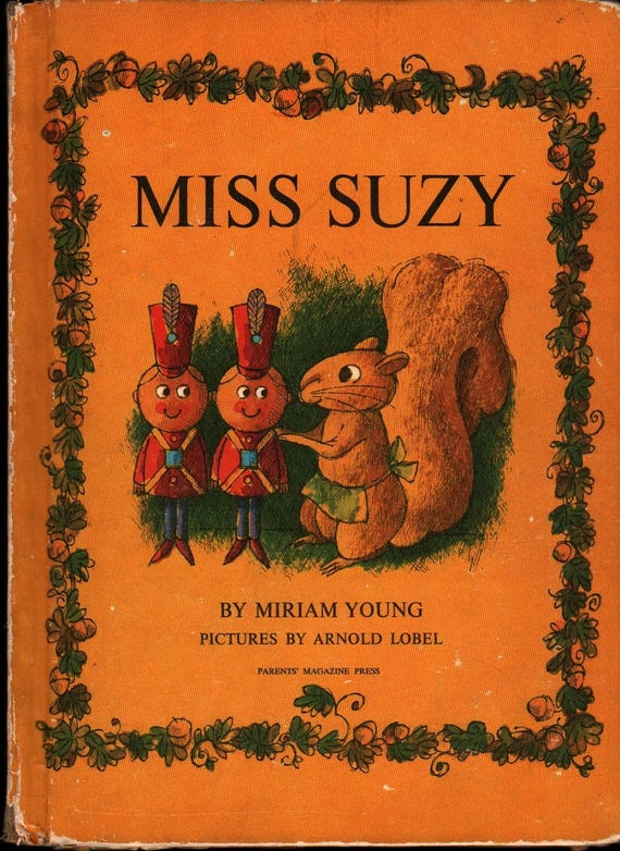 Miss Suzy - Miriam Young - Arnold Lobel - 1964 - Vintage Kids Book