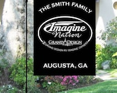 Grand Design Reflection Imagine FB Group Campground Site Flag with personalization