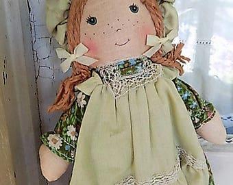 Vintage Holly Hobbie Plush Doll Friend Amy