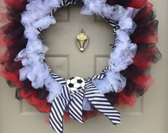 CUSTOM - School Spirit Sport Tulle Wreath