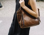 seven pocket tote   small   select leather color from drop down