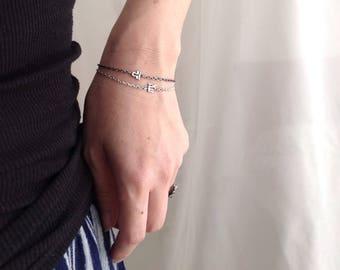 Zodiac Bracelet - Libra Scorpio Sagittarius Jewelry - Zodiac Jewelry - September October November December Jewelry -Sterling Silver Bracelet