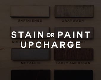 Hoffmaster Beauty - Wood Stain, Paint Upcharge