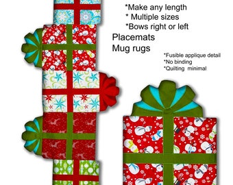 Giftboxes Pattern Downloadable PDF