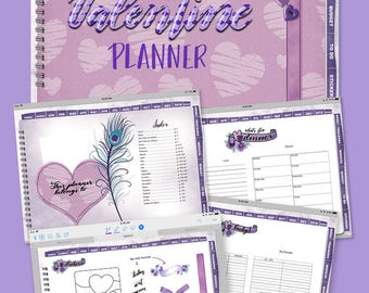 Valentine Digital iPad Planner (DigiBuJo) for GoodNotes App