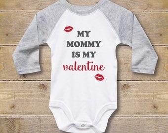 valentines gift for baby mommys boy valentines day onesie valentines day shirt for