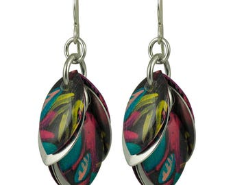 Polynesia Petals to the Metal Earrings