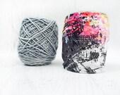 Yarn Sock- Yarn Tamer- Yarn Organizer- Yarn Keeper- Yarn Protector- Crochet Accessories- Vacation Knitting- Yarn Holder- Skein Coats