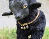 Black Phillip - Pygmy Goat - OOAK Art Doll