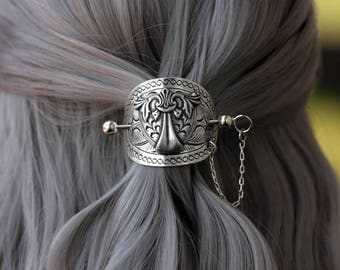 Metal Shield Hairpin