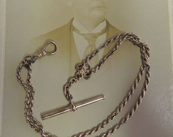 Vintage Gold Filled Watch Chain, CAM & Co,