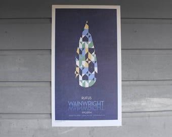 Rufus and Martha Wainwright concert poster