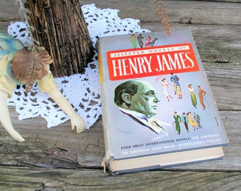 Selected Novels Of Henry James Hardcover With Dust Jacket