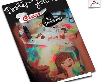 Poster Journal Class by Jennibellie - PDF VERSION