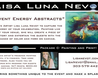 Energy Painting Live Events - Package C