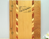 Vintage 1950's wood honeymoon photo album, vintage souvenir from Interstate Park, Minnesota, never used