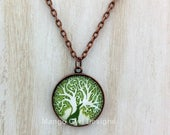 Greyhound Tree Of Life Necklace
