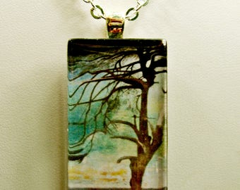 Lonely Cedar pendant with chain - GP01-619