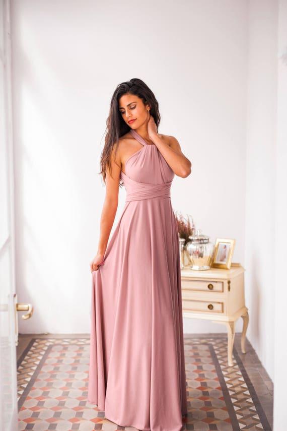 Vestidos cortos de fiesta color rosa palo – Moda Española moderna