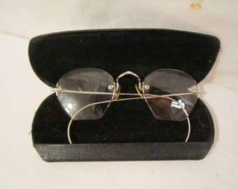 Antique Glasses, Antique Spectacles, Vintage Durex Gold Filled Spectacles