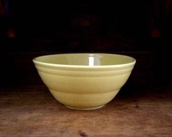 Pfaltzgraff Mid-Century Mixing Bowl Yellow