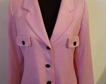 Gorgeous 80's Vintage Pink Escada by Margaretha Ley Jacket