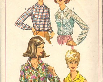 Simplicity 6526, size Misses 18, bust 38, Vintage Pattern