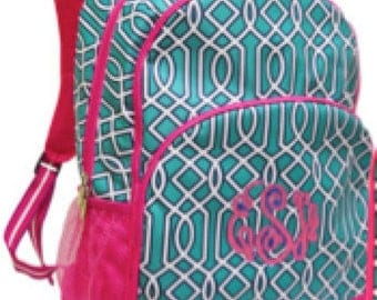 MONOGRAM INCLUDED Girls' Twist Backpack