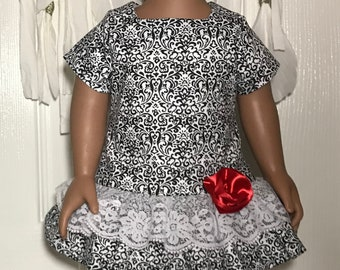"18"" Doll Dress with Pants"