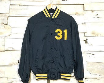 Vintage Nylon Baseball Jacket - Medium (NY-03)