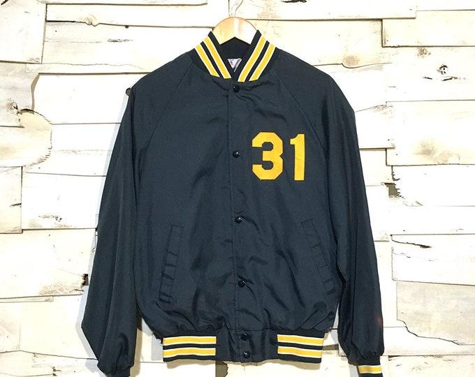 Vintage Nylon Baseball Jacket - Medium (NY-03)