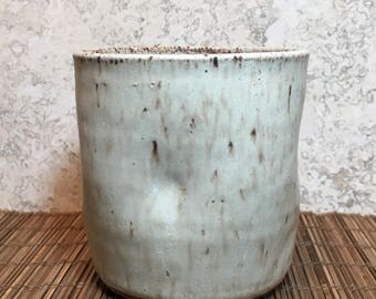 Rustic Cup - Handmade Stoneware Cup - Rustic Ceramic  Cup -Beer Cup - Handleless Mug - Beverage Tumbler - Coffee Cup - Tea Cup - Fathers Day