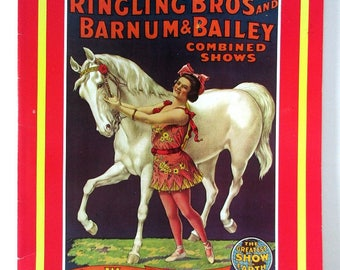 American Circus Posters in Full Color, Ringling Bros and Barnum & Bailey,