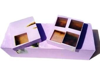 3.5 LB SOAP LOAF- Lavender Rose Scrub Soap - Lavender Soap - Rose Soap - Vegan Soap - Handmade Soap- Soap Gift - Favors