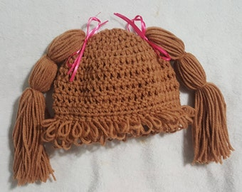Cabbage Patch Hat | Cabbage Patch Wig | Baby Cabbage patch hat | Crochet Cabbage patch hat