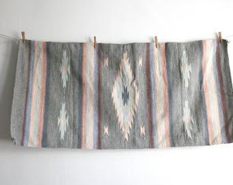 Gray Pastel Southwest Rug