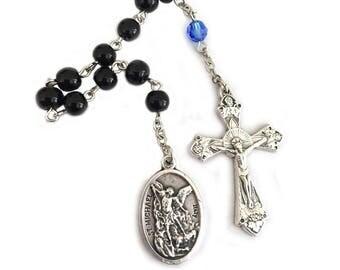 St Michael Chaplet Prayer Beads Police Officer Gifts