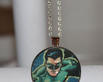 Green Lantern DC Super Hero Comic Mutant Necklace