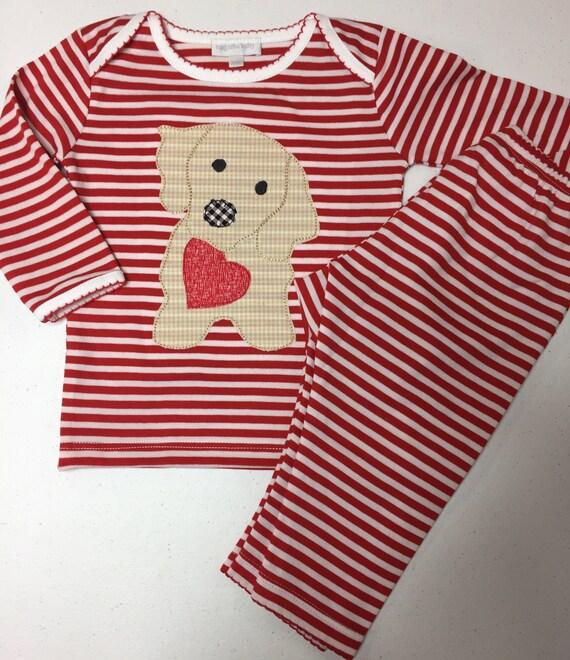 valentines pajamas baby boy pjs baby girl pjs appliqu valentine sleepwear newborn pajamas valentine outfit pima